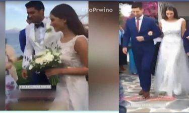 Πρίντεζης – Κωστοπούλου: Παντρεύτηκαν και βάφτισαν την εννιά μηνών κόρη τους