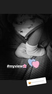 Ήβη Αδάμου: Η πρώτη φωτογραφία της κόρης της