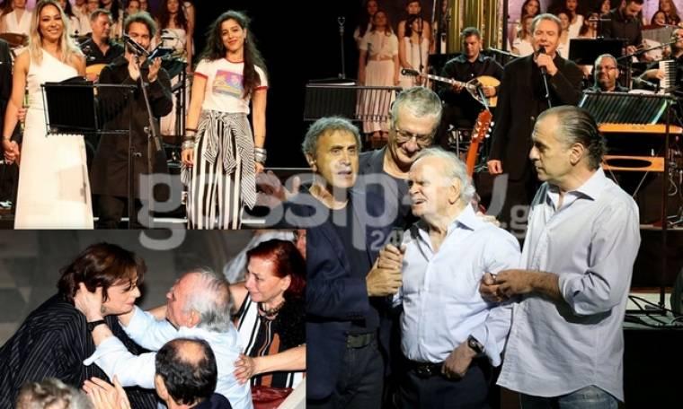Συγκίνηση στη συναυλία- αφιέρωμα στον Λευτέρη Παπαδόπουλο στο Ηρώδειο