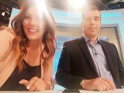 Παπαγιάννης- Ζαρακέλη: Προσπαθούν για την…τέλεια selfie