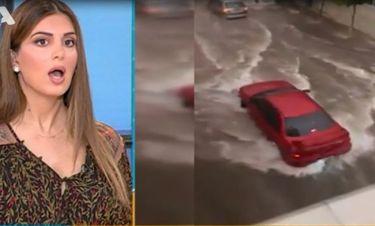 Σταματίνα Τσιμτσιλή: Έπαθε σοκ από τα πλάνα με τις πλημμύρες που έπνιξαν ξανά τη Μάνδρα Αττικής