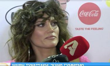 MAD VMA 2018: Δε φαντάζεστε τι δήλωσε η Μαίρη Συνατσάκη για τον… γυμνισμό και τις γυμνές φωτό