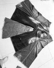 Κι όμως το φόρεμα της Ασλανίδου φτιάχτηκε από παλιά ρούχα του Ρέμου