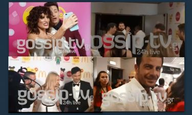 VMA 18 Backstage: Η selfies της Συνατσάκη και η πετσέτα του Μαζωνάκη