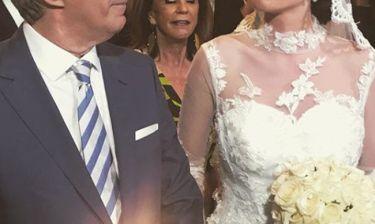 Το Σαββατοκύριακο περιμέναμε τον γάμο και παντρεύτηκε σήμερα