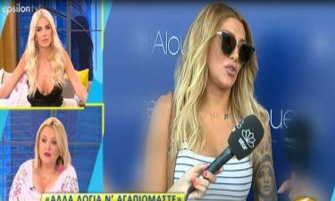Αγγελική Ηλιάδη: Η αντίδρασή της on camera στις φήμες χωρισμού από τον Σάββα Γκέντσογλου