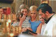 Νίκος Αλιάγας - Τίνα Γρηγορίου: Βάπτισαν τον γιο τους