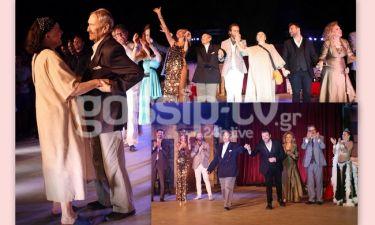 Καραγιάννη-Βογιατζής: Η συνάντηση επί σκηνής στο Κηποθέατρο Παπάγου