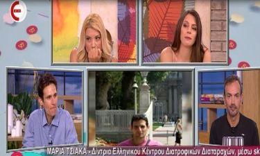 Γνωστός Έλληνας δημοσιογράφος αποκάλυψε on camera ότι πάσχει από νευρική ανορεξία