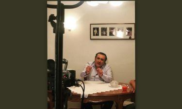 Λάκης Λαζόπουλος: Στο πατρικό του σπίτι στην Λάρισα