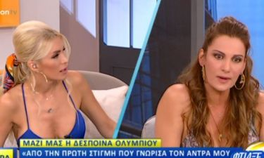 Η απίστευτη ατάκα on air της Καινούργιου για τα κιλά της Ολυμπίου