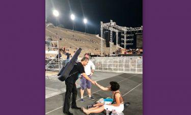 Γιώργος Νταλάρας: Η φωτογραφία στο instagram μετά τη συναυλία στο Καλλιμάρμαρο