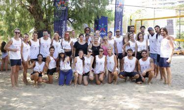 Με μεγάλη επιτυχία πραγματοποιήθηκε ο φιλανθρωπικός αγώνας Beach volley «Sugar & Spike»