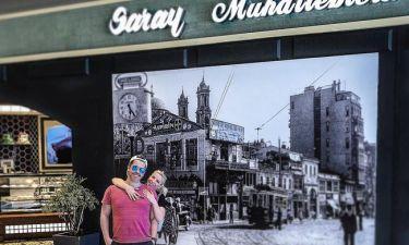 Χάρης Βαρθακούρης- Αντελίνα Τελώνη: «Τσάκισαν» τα γλυκά στην Κωνσταντινούπολη