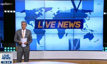 Νίκος Ευαγγελάτος: «Ο κύκλος του Live News φτάνει στο τέλος του»