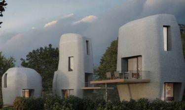 Ορόσημο τριών διαστάσεων: Mέχρι το 2019 στην Ολλανδία τα πρώτα 3D εκτυπωμένα σπίτια