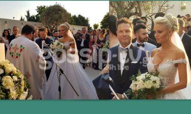 Πανέμορφη νύφη η Αλεξάνδρα Παναγιώταρου – Δείτε το εντυπωσιακό της νυφικό