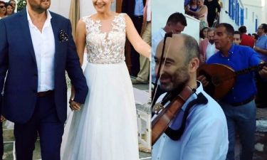 Παντρεύτηκε γνωστός ηθοποιός στη Σίφνο