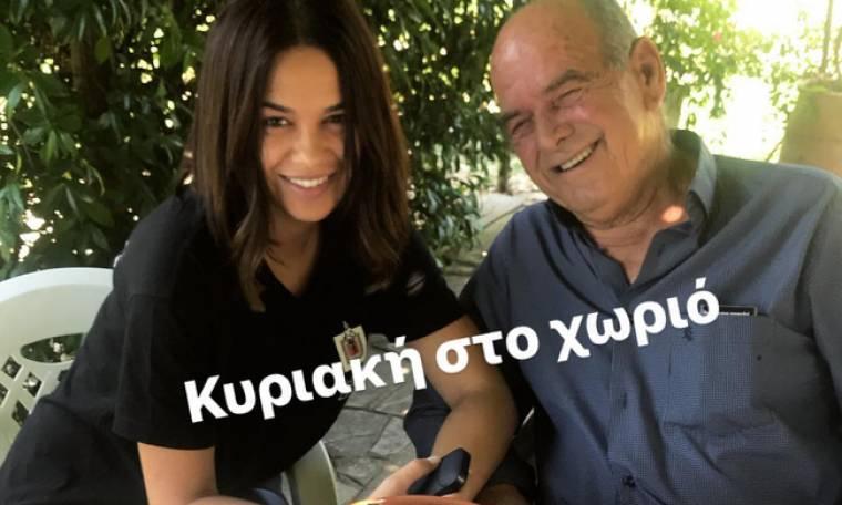 Η Πηνελόπη Πλάκα μας «συστήνει» τον παππού της
