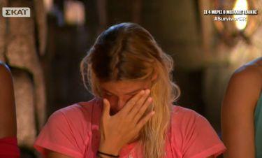 Survivor 2: Τα δάκρυα της Βιργινίας πριν την ανακοίνωση του αποτελέσματος