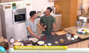 Splash: Ο Δράκος μαγειρεύει τσιζκέικ και δε φαντάζεστε τι τον ρωτά ο Δώρος!