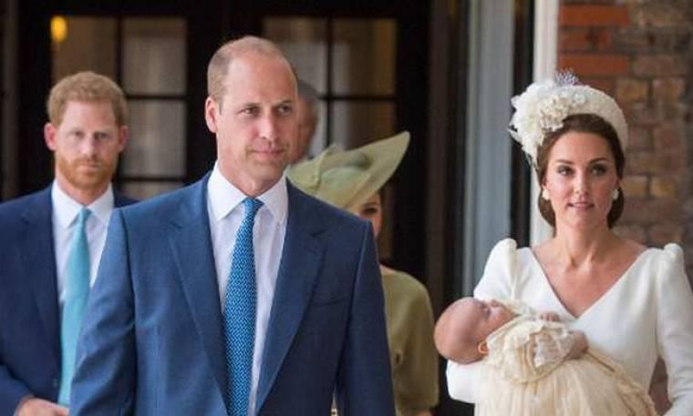 Και όμως το κάνανε: William και Kate σερβίρανε τούρτα… 7 χρόνων στην βάφτιση του Πρίγκιπα Louis