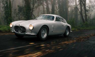 Maserati A6G/2000 Zagato Berlinetta: σπάνιο διαμάντι σε 4 τροχούς στο σφυρί