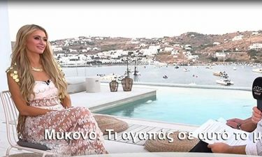 Η Paris Hilton είναι στη Μύκονο και αποκαλύπτει τις δικές της αλήθειες