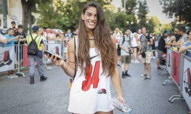 Η Μαρίνα Πήχου πήρε μέρος στο «Antetokounbros 5K Run»