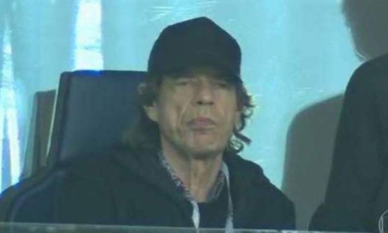Μουντιάλ 2018: Ο Mick Jagger στην Αγία Πετρούπολη για το Γαλλία-Βέλγιο
