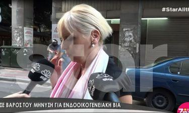 Στο Αστυνομικό Τμήμα και η μητέρα του Ανανιάδη - Η αντίδρασή της on camera