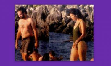 Σωτηροπούλου – Μαραβέγιας: Μπάνια στην Ύδρα για το ερωτευμένο ζευγάρι