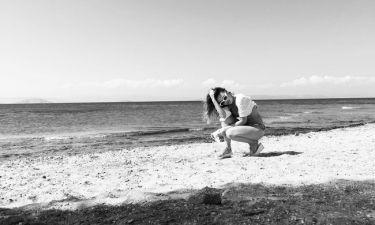 Η Ευρυδίκη ποζάρει για πρώτη φορά με μαγιό. Δείτε τις φωτογραφίες που ανέβασε στο instagram