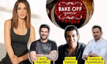 Οι κριτές του «Bake off Greece» αποκαλύπτονται και μιλούν για τον ζαχαροπλάστη που ζητούν