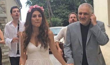 Ο Νίκος Πορτοκάλογλου πάντρεψε την κόρη του