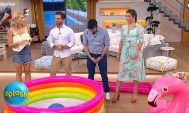 Splash: Η αλλαγή στην εκπομπή και η ατάκα του Δώρου on air!