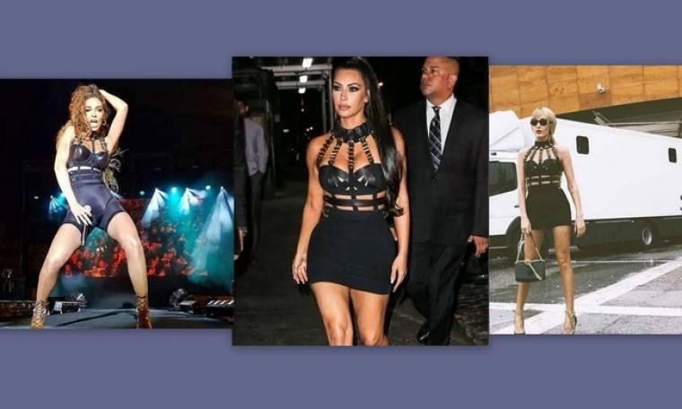 Τάμτα – Φουρέιρα – Kardashian: Με τον ίδιο κορσέ! Ποια το φόρεσε καλύτερα;