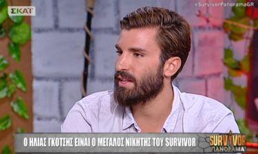 Survivor 2: Ηλίας Γκότσης: «Ο Νικόλας με συγκίνησε με δύο κινήσεις που έκανε»