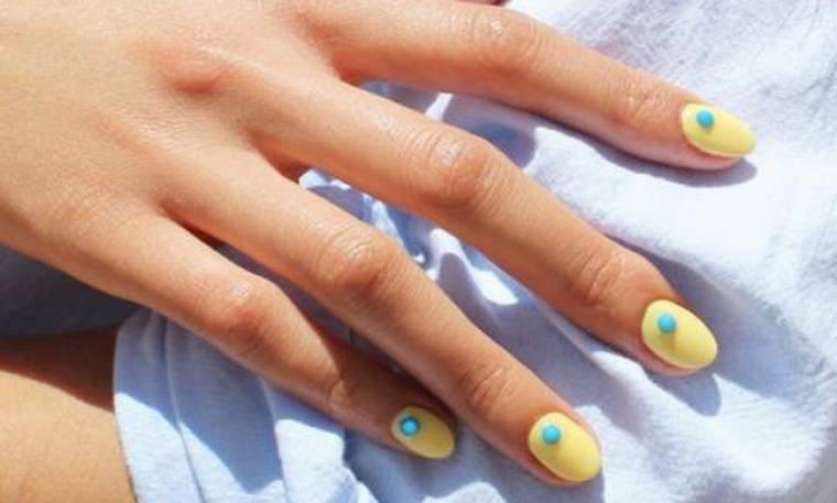 8 αναπάντεχοι τρόποι να χρησιμοποιήσεις το κίτρινο στο μανικιούρ σου