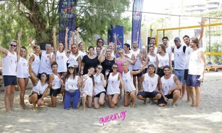 W.I.N. Hellas Celeb Beach Volley Video !!!