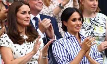 Για πρώτη φορά: Meghan Markle και Kate Middleton σε κοινή solo εμφάνιση