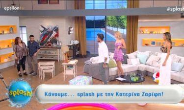 Κατερίνα Ζαρίφη: Δε φαντάζεστε γιατί ζήτησε να φύγει η παρουσιάστρια από το Splash!