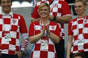 Μουντιάλ 2018: Η πρόεδρος της Κροατία έκλεψε τις εντυπώσεις και επισκίασε Μακρόν και Πούτιν