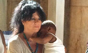 Άννα Βαγενά: Βάφτισε αγοράκι από την Αιθιοπία και το ονόμασε… Λουκιανό