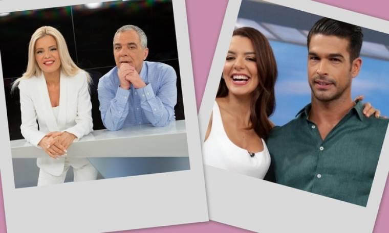 """Τηλεθέαση: Ποιο τηλεοπτικό """"ζευγάρι"""" κατέκτησε την κορυφή;"""