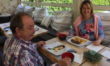 Ηλίας Μαμαλάκης: Η συνεργασία με τη σύζυγό του και οι εντάσεις μεταξύ τους