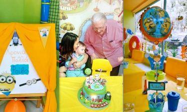 Γενέθλια για τον Βουτσά junior – Έγινε δύο χρονών!
