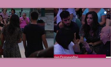 Γερονικολού-Τσιμιτσέλης: Τα πλάνα από την πρώτη κοινή τους εμφάνιση και η ενόχλησή τους