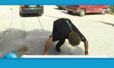 Κάγκελο η Γαστεράτου! Παίκτης του Βig Brother τράβηξε ένα αυτοκίνητο με τα μαλλιά του