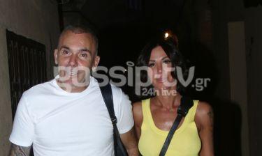 Στέλιος Ρόκκος: Με τη γυναίκα του σε live στη Ρόδο